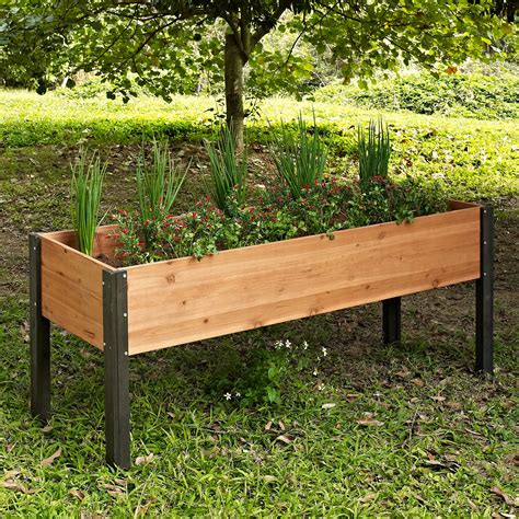 elevated garden beds on legs raised garden beds on legs image of plastic raised garden beds with legs raised