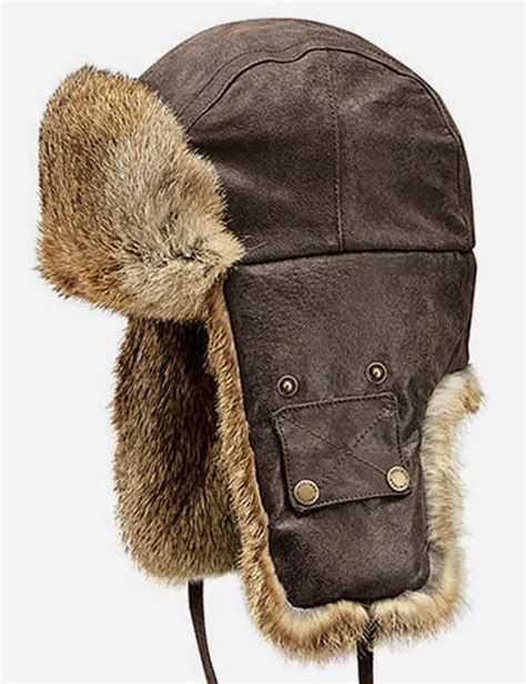 Trapper Hat stetson starkville fur trapper hat brown