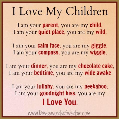 child poem daveswordsofwisdom i my children