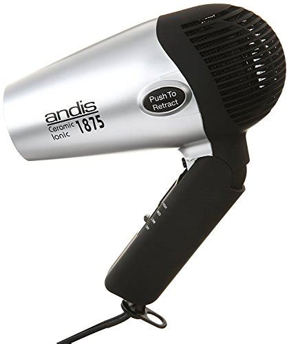 Hair Dryer And Cool andis ionic compact hair dryer with folding handle and