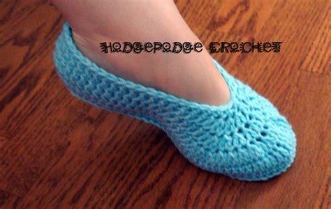 crochet slippers ballet slippers hodgepodge crochet