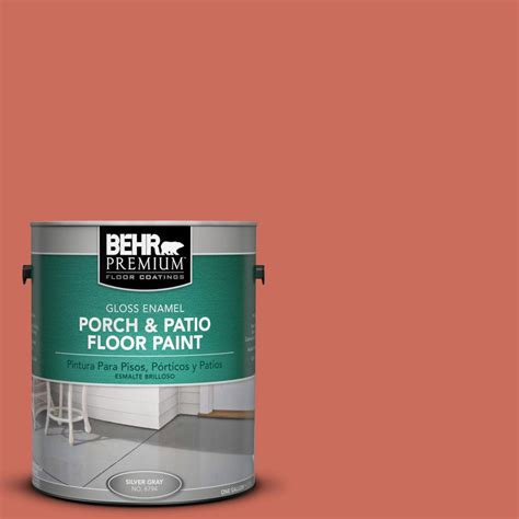 behr premium 1 gal m170 6 dash of curry gloss porch and
