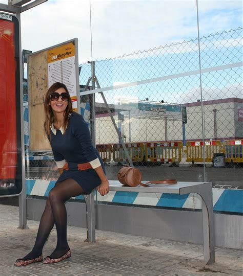 why are pantyhose so comfortable fabulous dressed blogger woman spain girl
