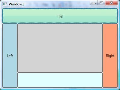 xaml dynamic layout wpf layout dockpanel