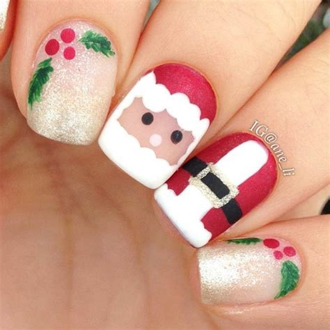 images of christmas nail art 31 christmas nail art design ideas stayglam