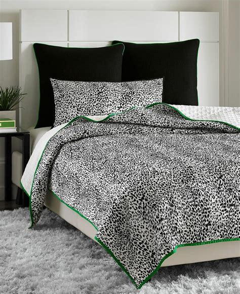 snow leopard bedding vince camuto home snow leopard full queen printed coverlet