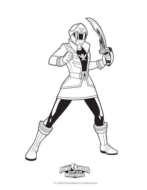 power rangers megaforce coloring pages megaforce power rangers coloring pages printable