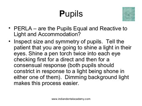 Pupils Equal Reactive To Light And Accommodation by Cranial Nerves Certified Fixed Orthodontic Courses By