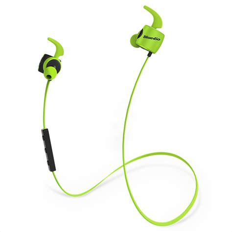 Bluedio Te Bluetooth Sport Earphone bluedio te sports bluetooth headset wireless headphone inear earbuds builtin mic sweat proof