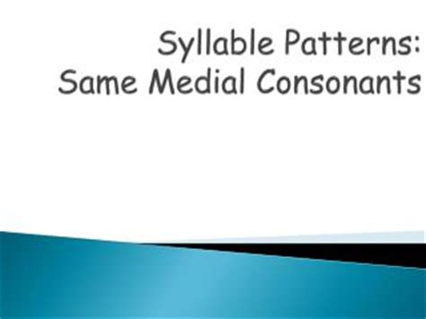 vccv pattern meaning ppt syllable affix patterns sort 3 adding ing to