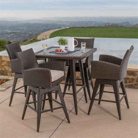mission hills dining room set santa fe 5pc bar height dining collection mission hills
