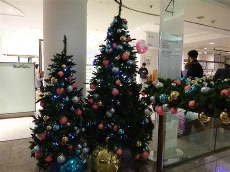 christmas trees at selfridges s best trees 2016 londonist