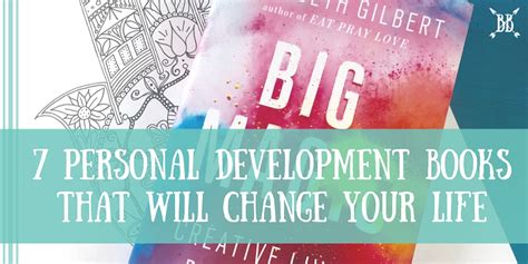 7 Books Your Will by 7 Personal Development Books That Will Change Your