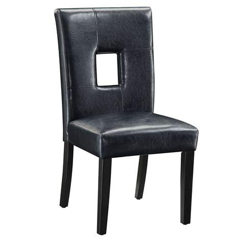 Black Modern Dining Chairs Nicholas Black Modern Dining Chair Eurway Furniture