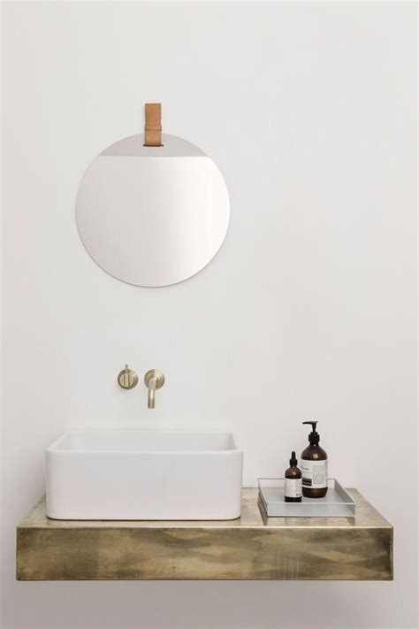 Bathroom Sink Shelves Floating 17 Best Ideas About Wall Mounted Sink On Modern Bathrooms Minimalist Bathroom And