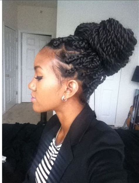 senegalese twists in a bun 17 best images about box braids on pinterest big box