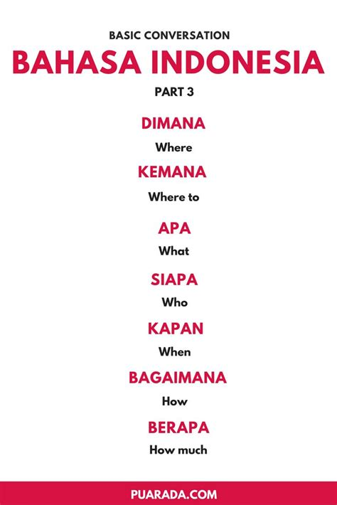bahasa indonesia here are some basic for bahasa indonesia this is