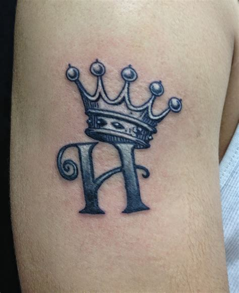 k tattoos crown tattoos with letter k
