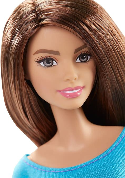 barbie   move barbie doll blue top barbie