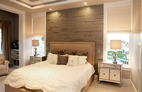accent wall bedroom wood slats give the bedroom accent wall an inviting warmth