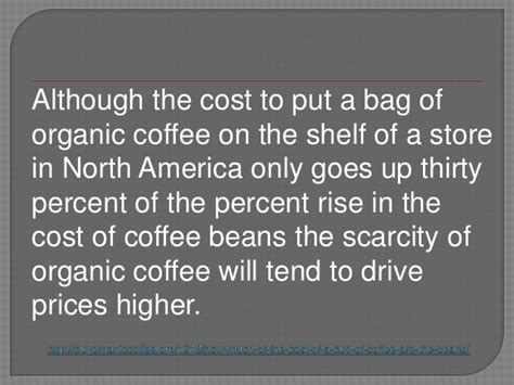 The Cost Of Beans by How Much Of The Cost Of A Cup Of Coffee Are The Beans