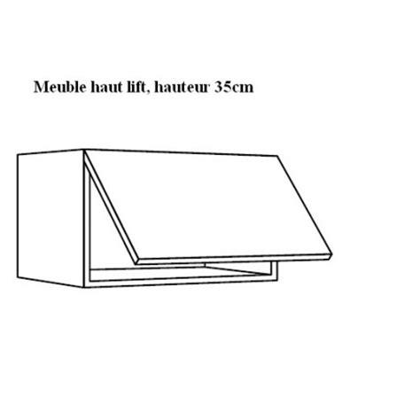 Largeur Plan Travail Cuisine 3923 by Meuble Haut Lift Largeur 50cm