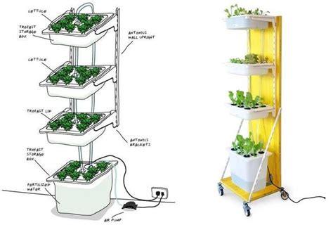 build  hydroponic indoor garden  ikea parts