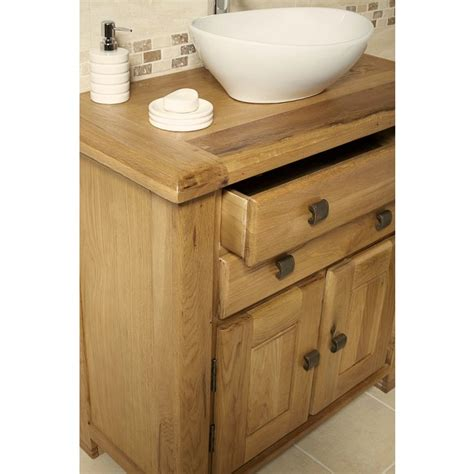 rustic bathroom vanity units ohio rustic oak bathroom cabinet vanity unit click oak