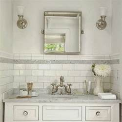 White Subway Tile Bathroom Ideas by White Subway Tile Bathroom Ideas And Pictures
