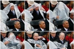 George w bush s battle with poncho sparks hilarious reaction online