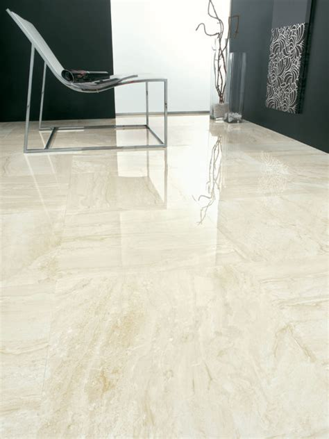 How To Make Ceramic Tile Floors Shine by High Shine And Polished Porcelain Tiles