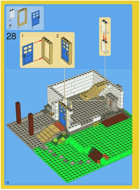 lego house designs instructions lego creator house plans house plans