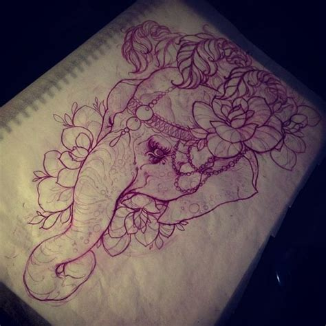 tattoo sketch paper spring paper plate crafts an elephant tattoo ideas and tat