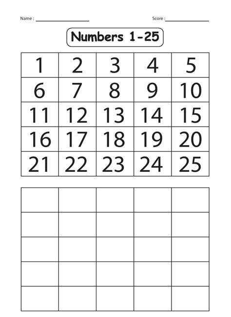 large printable numbers preschool images about worksheets preschool free printouts worksheet