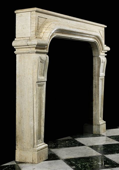 Revival Fireplace Mantel by Antique Fireplace Mantel In The Italian Baroque