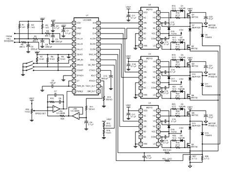 3 phase bldc motor driver circuit wiring diagrams wiring