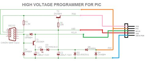 serial port pic programmer circuit diagram electronics the king of hobbies pic programmer