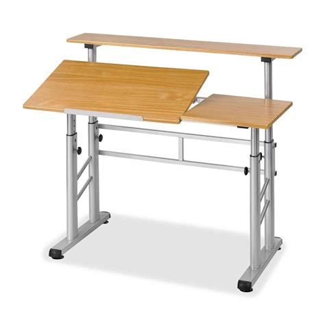 Drafting Table Height Adjustable Drafting Table Plans Office Furniture