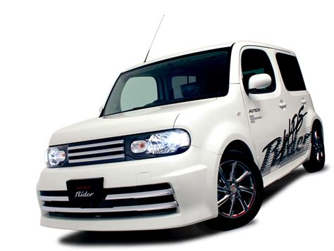 nissan cube bodykit tokyo auto salon 2009 with napac picture 11861