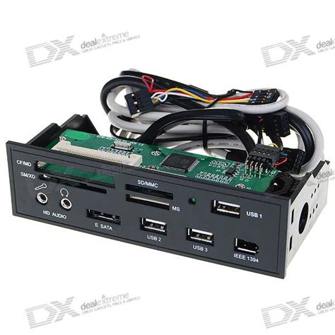 Front Panel Pc 5 25 Quot Pc Chassis Front Panel Card Reader With 3 Usb