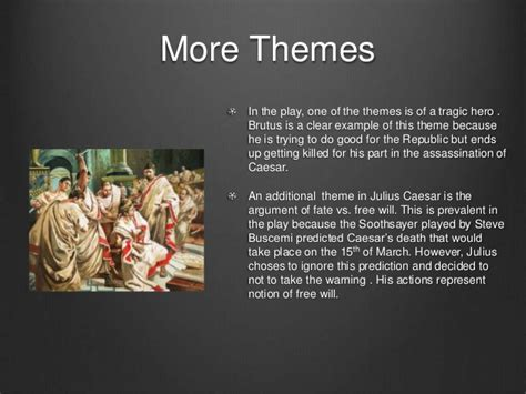 julius caesar themes ambition julius caesar academic presentation