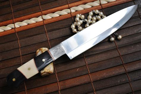 handmade knife forged o1 tool steel kitchen