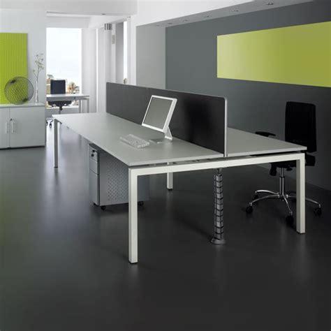 Office Desk Systems Rectangular Bench Desk System Desking System
