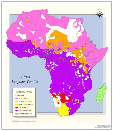 africa map of languages go and proclaim ministries