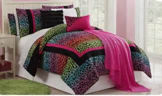 girls bed in a bag sets girls kids bedding leopard fun bed in a bag super set