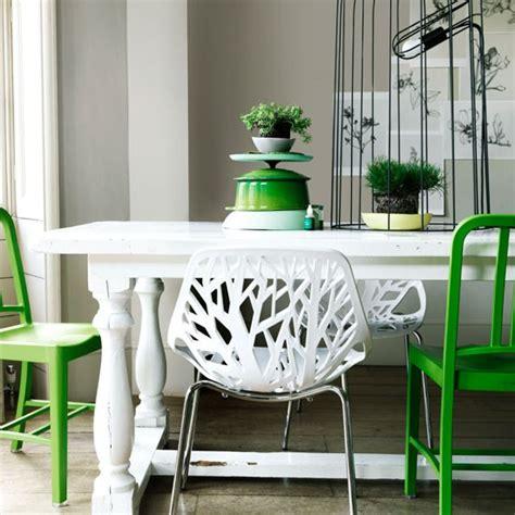 Dining Table Decor Green Modern Green Dining Room Dining Room Idea Housetohome