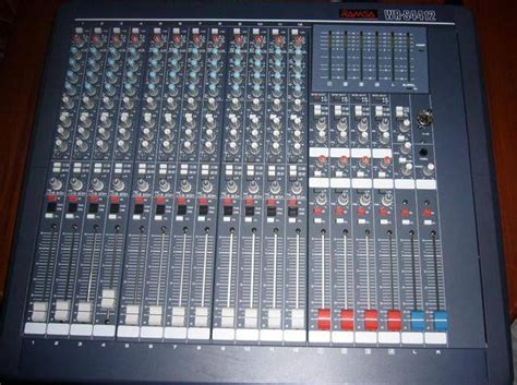 Audio Mixer Scond professional audio mixer for sale from laguna adpost classifieds gt philippines gt 741