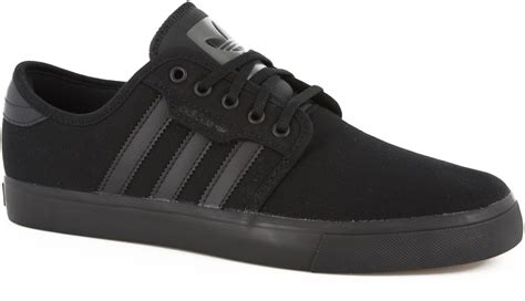 adidas black shoes adidas seeley skate shoes free shipping