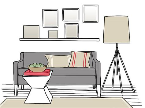 living room clip art living room clipart line drawing pencil and in color