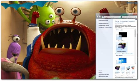theme line monster university monsters university theme download